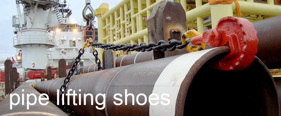 pipe lifting shoe